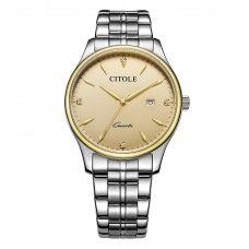 CITOLE Analog Men's Watch CT5185GSGG