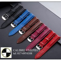 Watch Accessories LEATHERS GENUINE CALF LEATHER STRAP (Lizard Pattern)