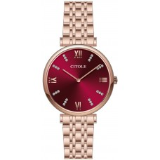 CITOLE Analog Lady's Watch CT10013LRRR