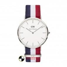 Daniel Wellington Mens  Cambridge Silver Watch DW00100017