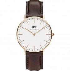 DANIEL WELLINGTON Classic Bristol White Dial Ladies Watch DW00100039