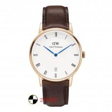 DANIEL WELLINGTON Dapper Bristol White Dial Men's Watch DW00100084