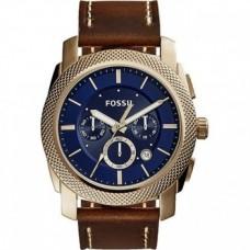 Fossil Machine Chronograph Blue Dial Men's Watch  FS5159