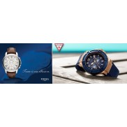 FOSSIL & GUESS AD