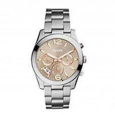 Fossil Perfect Boyfriend Taupe Dial Ladies Watch  ES4146