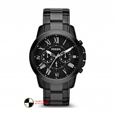 Fossil Grant Chronograph Analog Black Dial Men's Watch  FS4832
