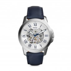 FOSSIL Grant Automatic Navy Leather Watch ME3111