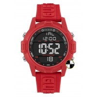 GUESS W1299G3 Red Case Red Silicone Watch