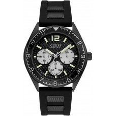 GUESS W1167G2 Pacific Black Dial Men's Multifunction Watch W1167G2