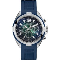 Guess W1168G1 Chronograph Blue Dial Men's Watch