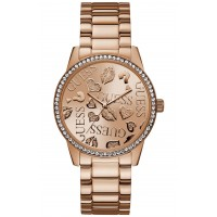 GUESS W1205L3  Womens Rose Gold Dial Stainless steel Analogue