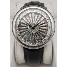 Saint Polo Spinner Dial Lady Watch 2061L BKD