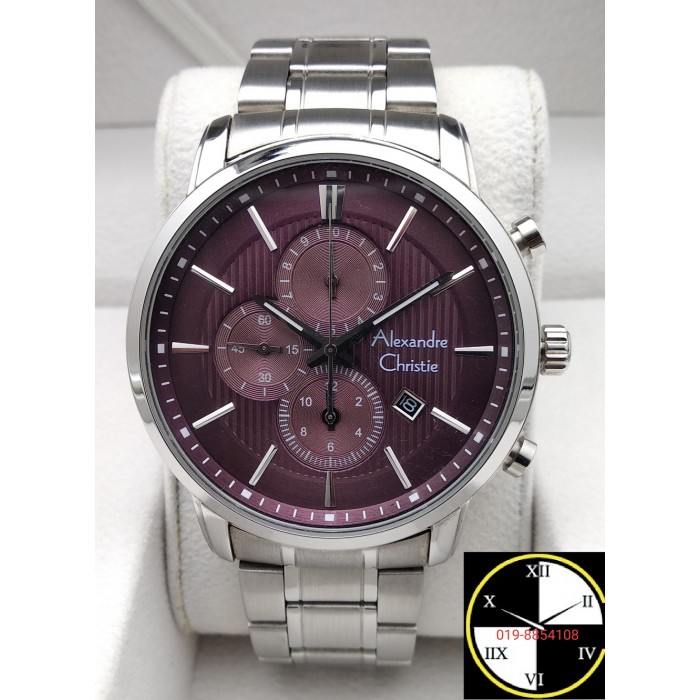 ALEXANDRE CHRISTIE Chronograph 44mm Men's Watch 63...