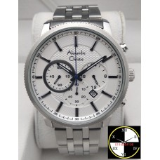 ALEXANDRE CHRISTIE Chronograph 44mm Men's Watch 6347MCBSSSSL