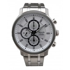 ALEXANDRE CHRISTIE Chronograph 44mm Men's Watch 6332MCBSSSL