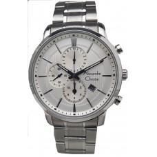 ALEXANDRE CHRISTIE Chronograph 44mm Men's Watch 6346MCBSSSL