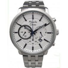 ALEXANDRE CHRISTIE Chronograph 44mm Men's Watch 6347MCBSSSSL