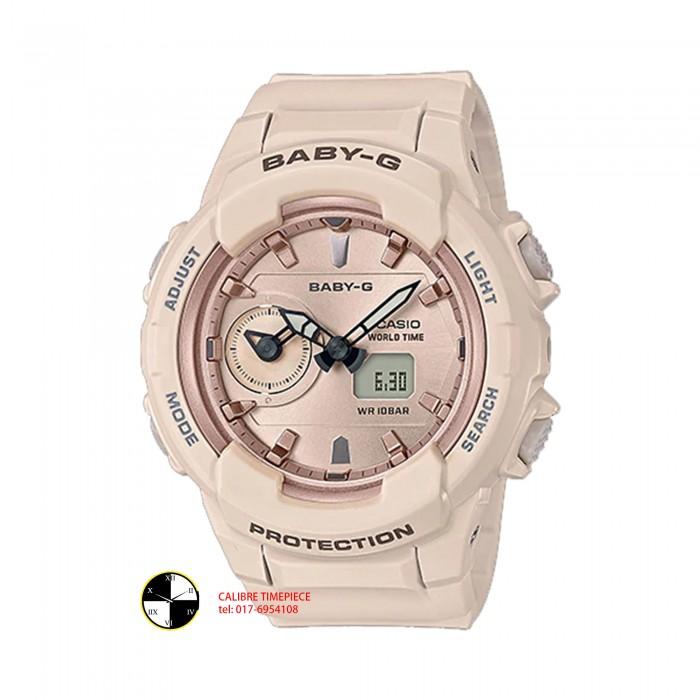 BABY G Analog Digital BGA-230SA-4ADR Ladies Watch