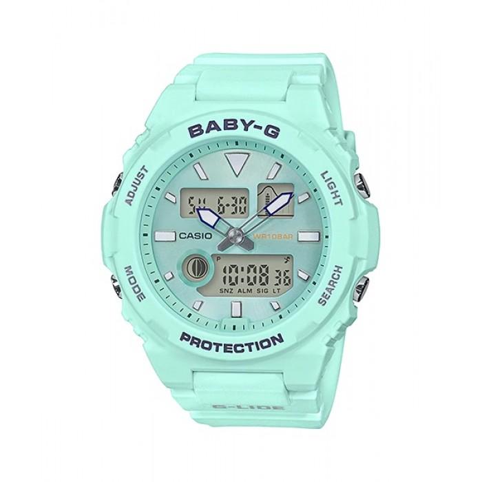 BABY G Analog Digital BAX-100-3ADR Ladies Watch