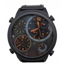 BALMER 4 Time Zone 50mm Men's Watch 7843G BK-401