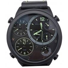 BALMER 4 Time Zone 50mm Men's Watch 7843G BK-46