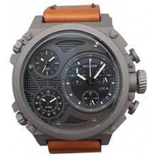 BALMER Triple Time Zone 50mm Men's Watch 7862G SS-42