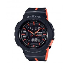 BABY G Analog Digital BGA-240L-1ADR Ladies Watch