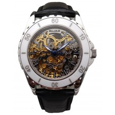 BUZZ Skeleton Automatic 40mm Men's Watch B-8078