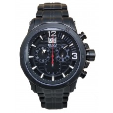 BUZZ Chronograph 44mm Men's Watch B-8855G BK