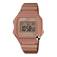 CASIO  Data Bank Digital Rose Gold Bracelet B650WC-5ADF
