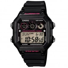CASIO Digital Men's Watch AE-1300WH-1A2VDF