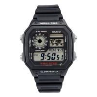 CASIO Digital Men's Watch AE1200WH-1AV