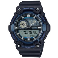 CASIO Digital Men's Watch AEQ-200W-2AVDF