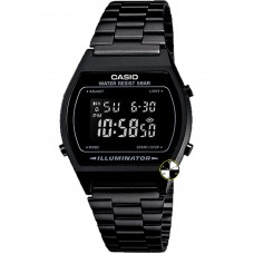 CASIO Bank Digital Black Bracelet Watch Digital B640WB-1ADF
