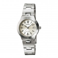 CASIO Analogue Stainless Steel Lady's LTP-1241D-7A2DF
