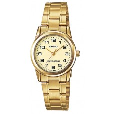 CASIO LTP-E312D-1BVDF Analog Lady Watch