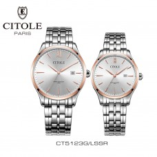 CITOLE Analog Couple Watch CT5123