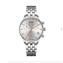 CITOLE Chronograph Lady Watch CT5223LSWR