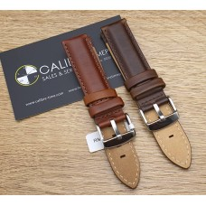 Watch Accessories Italy Style Genuine Calf Leather Straps ICL-18MM