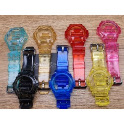 Watch Accessories G-Shock DW6900 6600 6930 3230 Jelly Casing & Strap