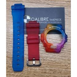 Watch Accessories G-Shock DW6900 Rainbow Casing Set