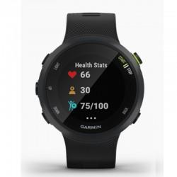 Garmin Forerunner 45 GM-010-02156-65 Digital Smart Black Silicone Smartwatch