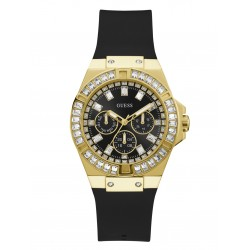 GUESS  Black And Gold-Tone Multifunction 39MM LADIES WATCH GW0118L1