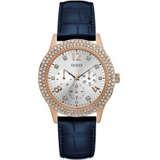 GUESS Bedazzle Multifunction 40mm Ladies Watch W1159L2