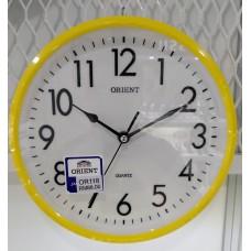 WALL CLOCK ORIENT OROR118 YELLOW