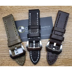 Watch Accessories Thick Strap 24mm (Top Quality & 100% Compatible)