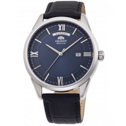 ORIENT Mechanical Contemporary Watch, Leather Strap - 40.8mm (RA-AX0007L)
