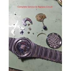 Omega Constellation Replace Circuit & Rotor