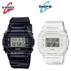 G-SHOCK and BABY-G Special Pairs SLV-19B-1