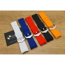 Watch Accessories Curve Lug Premium Quality Silicone Band 22MM CURS-22
